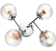 Lustra Candellux Best, 4xE14, crom-transparent