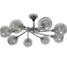 Lustra Candellux Ozzo, 8xE14, crom-transparent