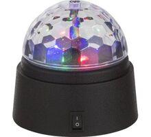 Lampa decorativa LED Globo Lighting Disco, 0.36W, negru-transparent