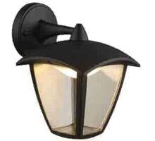 Aplica LED Globo Lighting Delio, 7W, negru-transparent