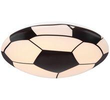 Plafoniera LED Globo Lighting Lemmi, 18W, alb-negru