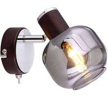 Aplica Globo Lighting Pallo, 1xE14, bronz-fumuriu