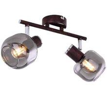 Plafoniera Globo Lighting Pallo, 2xE14, bronz-fumuriu