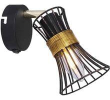 Aplica Globo Lighting Purra, 1xE14, auriu-negru