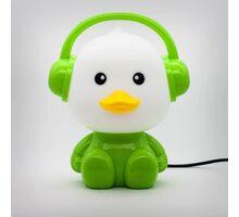 Veioza Kelektron Cute Pet 1, 1xE14, alb-verde