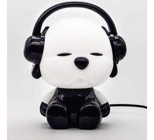 Veioza Kelektron Cute Pet 2, 1xE14, alb-negru
