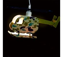Pendul Kelektron Helicopter 2, 1xE27, verde