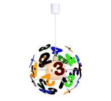Pendul Kelektron Numbers, 1xE27, multicolor