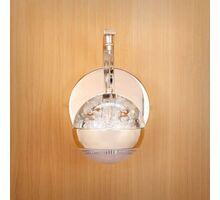 Aplica LED Kelektron Drops, 8W, auriu-transparent