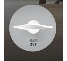 Aplica LED Kelektron Helix, 8W, alb