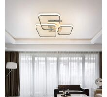 Plafoniera LED Kelektron Frame, 28W, alb