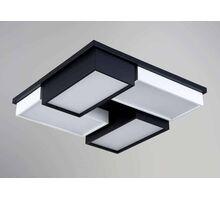 Plafoniera LED Kelektron Zen, 48W, alb-negru