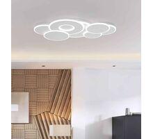 Plafoniera LED Kelektron Belinus, 98W, alb, dimabil, telecomanda
