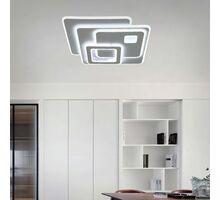 Plafoniera LED Kelektron Retro, 170W, alb, dimabil, telecomanda