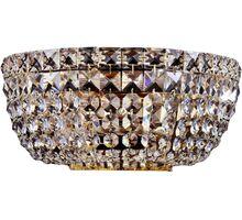 Aplica cristal Maytoni Basfor, 2xE14, auriu