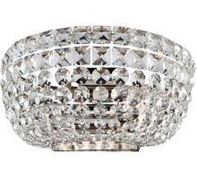 Aplica cristal Maytoni Basfor, 2xE14, nichel