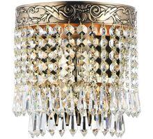 Aplica cristal  Maytoni Palace, 1xE27, auriu-transparent