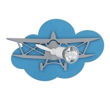 Aplica Nowodvorski Plane, 1xGU10, albastru-gri