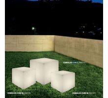 Lampadar Nowodvorski Cumulus Cube M, 1xE27, alb