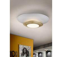 Plafoniera LED Schuller Hole, 22.5W, alb-auriu