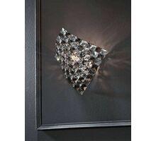 Aplica cristal Schuller Saten, 1xG9, crom-fumuriu-transparent