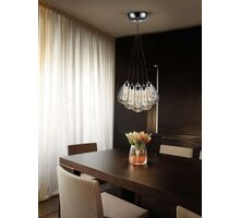 Pendul LED Schuller Taccia, 30W, crom