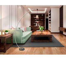 Lampadar LED Schuller Linea, 25.2W, negru-opal