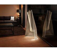 Lampadar LED Schuller Velos, 17W, auriu-transparent