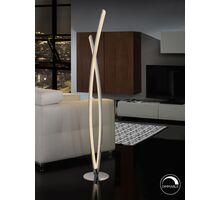 Lampadar LED Schuller Linur, 25.4W, alb-crom