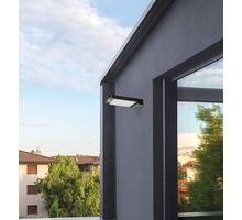 Aplica LED ACB Bond, 2.5W, negru,solar, senzor crepuscular