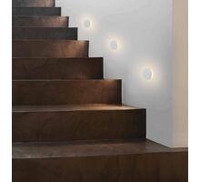 Spot LED pentru trepte/pardoseli incastrat ACB Miura, 3W, alb, rotund, IP20