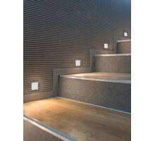 Spot LED pentru trepte/pardoseli incastrat ACB Prado, 3W, alb, patrat, IP20