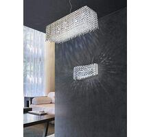 Pendul AZzardo Roma, 6xG9, crom-transparent