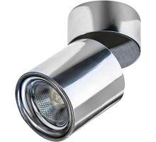 Spot mobil LED aplicat AZzardo Siena, 10W, crom, rotund, IP20