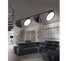 Pendul LED AZzardo Clamor, 40W, negru