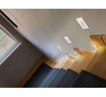 Spot LED pentru trepte/pardoseli incastrat AZzardo Raggio, 3W, nichel satinat, dreptunghi, IP54