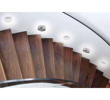 Spot LED pentru trepte/pardoseli incastrat AZzardo Taz, 1W, negru, rotund, IP20