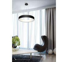 Pendul LED AZzardo Sovana Pendant, 80W, negru, dimabil, telecomanda