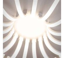 Plafoniera LED Kelektron Astro, 112W, alb