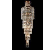 Candelabru cristal Maytoni Niagara, 16xE14, auriu