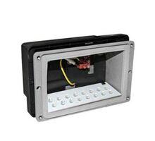 Spot LED pentru trepte/pardoseli incastrat Lumen, 16W, gri, dreptunghiular, IP54