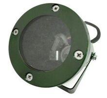 Spot mobil aplicat Lumen, 1xGU10, verde, rotund, IP65