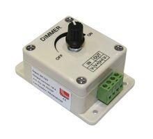 Dimmer cu reglaj manual Lumen 8A pentru banda LED monocolora