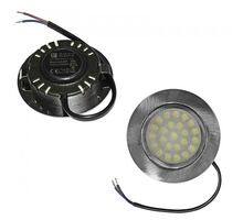 Spot LED pentru mobila incastrat Lumen, 4W, aluminiu satinat, rotund, IP40