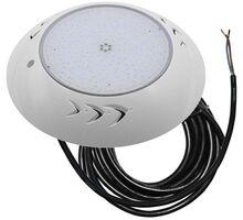 Spot LED pentru piscina aplicat Lumen, 18W, alb, rotund, IP68