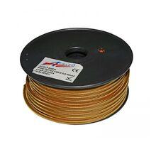 """Cablu """"cordon"""" Lumen flexibil 2x0.50 mm roz auriu"""