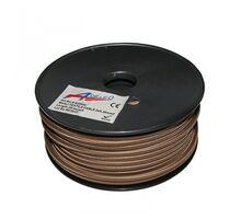 "Cablu ""cordon"" Lumen flexibil 2x0.50 mm maro"