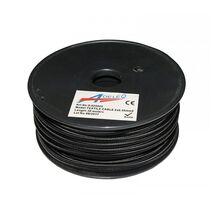 "Cablu ""cordon"" Lumen flexibil 2x0.50 mm negru"