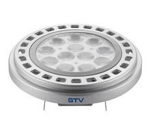 Bec LED GTV G53, AR111, 12W, 3000K