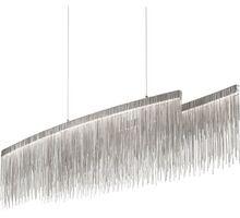 Pendul LED Ideal Lux Versus, 43W, crom-transparent
